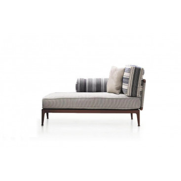B&B Italia Ribes Chaiselongue links 141 cm