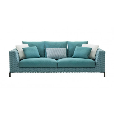 B&B Italia Ray Outdoor Loungesofa 235 cm Fabric