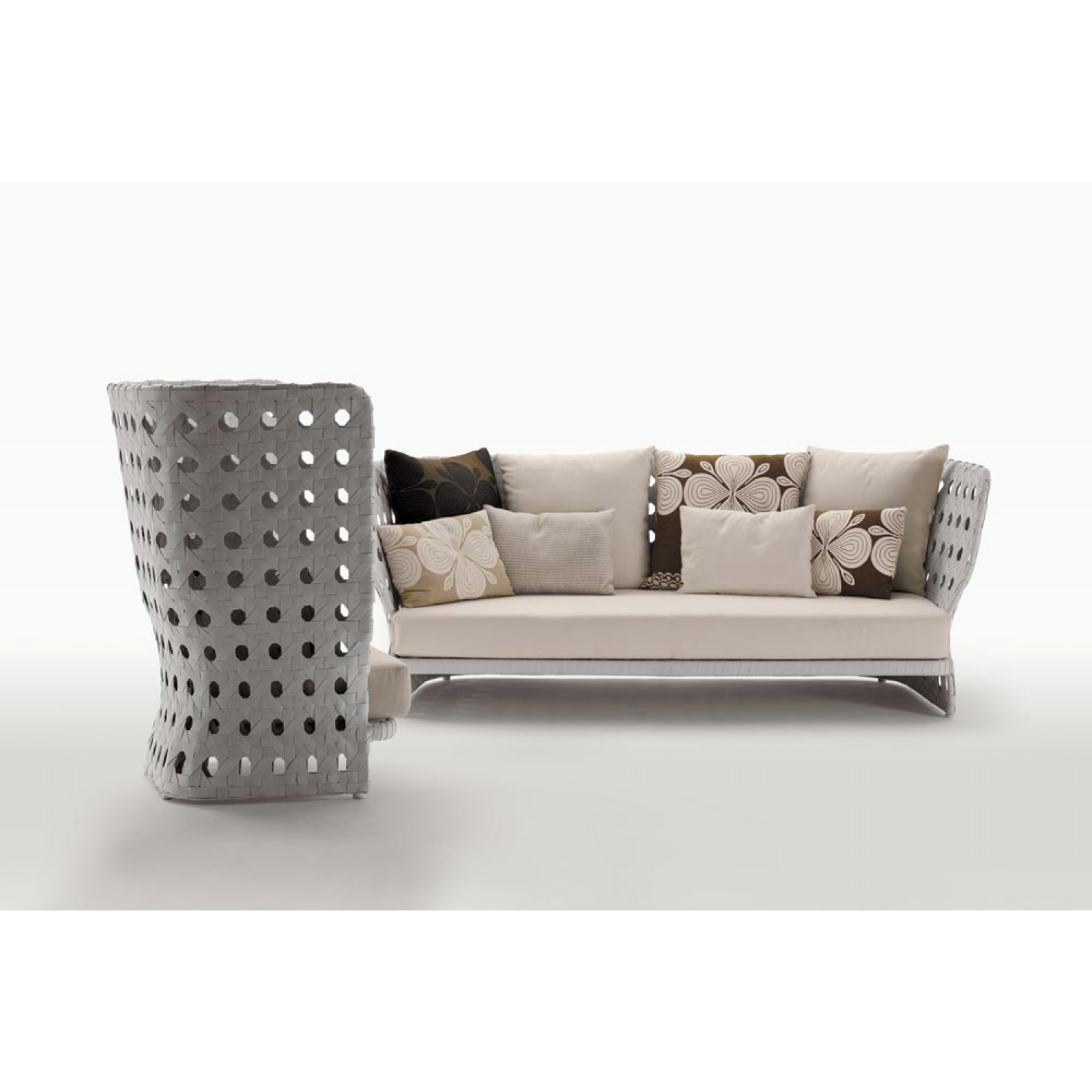 B&B Italia Canasta Outdoor Loungesofa 229 cm