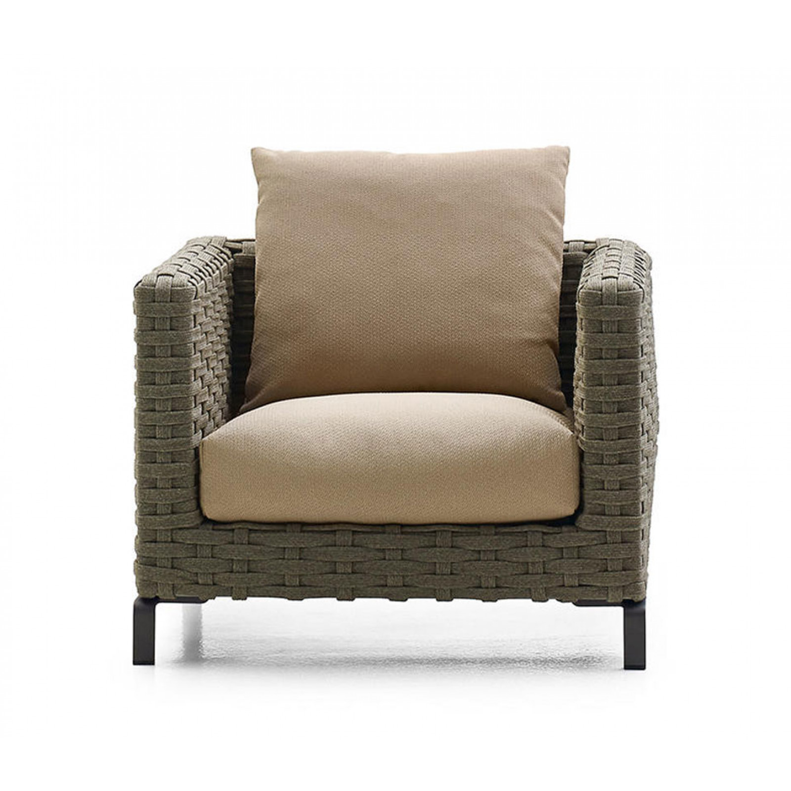 B&B Italia Ray Outdoor Natural Loungesessel 85 cm