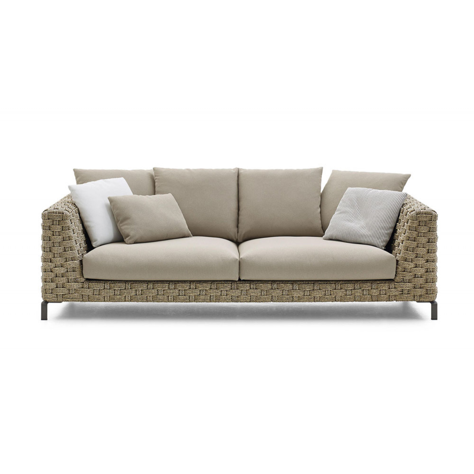 B&B Italia Ray Outdoor Loungesofa 236 cm Natural