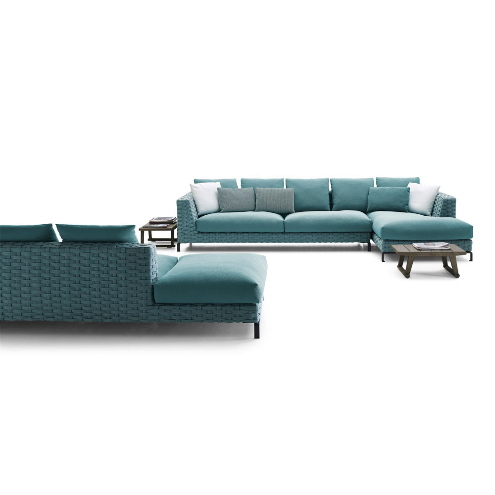 B&B Italia Ray Outdoor Fabric Loungesegruppe