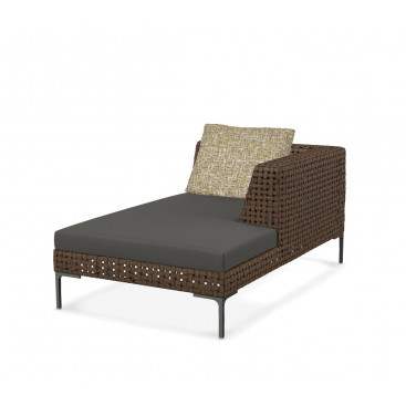 B&B Italia Charles Outdoor Chaise Longue Element rechts 160 cm